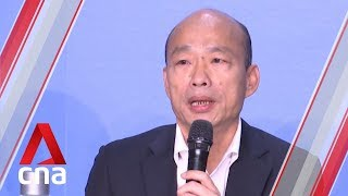 Taiwan Presidential Candidate Han Kuo-yu Says He Will Not Sign Peace Treaty With China If Elected