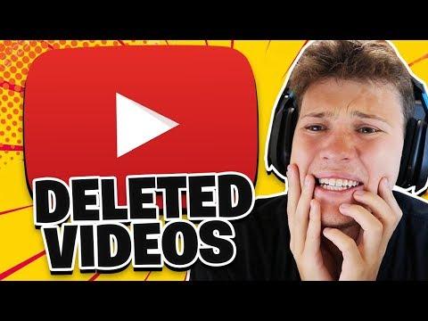 My DELETED VIDEOS *CRINGE*