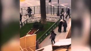Fuerte viento provoca estragos a anciana en Plaza Italia
