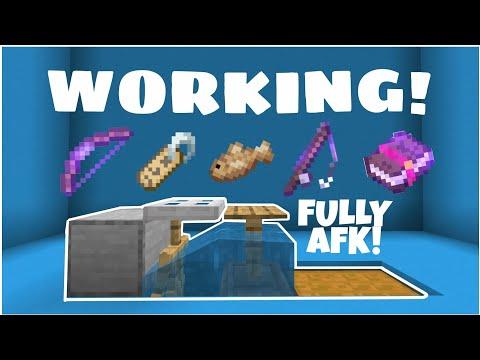 Working Minecraft PE AFK Fish Farm 2020 (Working 1.14) Afk Fish Farm 2020 // NEW AFK FISH FARM!