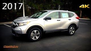 2017 Honda CRV LX - Detailed Look In 4K