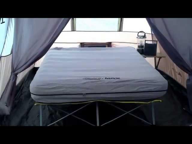 coleman pack away airbed cot queen 3