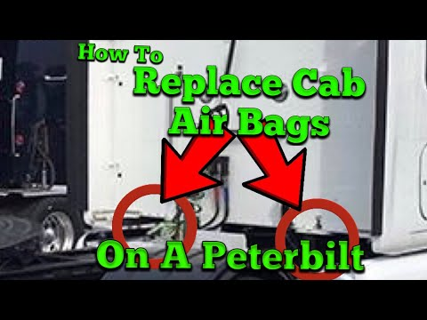 Cab Air Bag Replacement on a Peterbilt