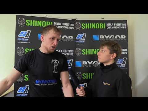 Matt Bonner SHINOBI WAR 11 Post Fight Interview