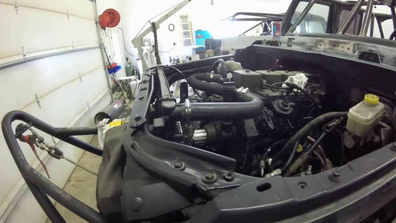 Jeep Jk 4bt Cummins Diesel On One Tons Part 8 Youtube