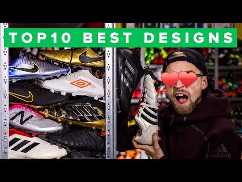 TOP 10 BEST LOOKING FOOTBALL BOOTS & COLOURWAYS OF 2017