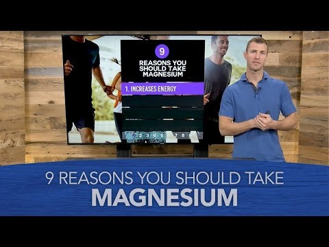 9 Reasons You Should Take Magnesium & Magnesium-Rich Foods