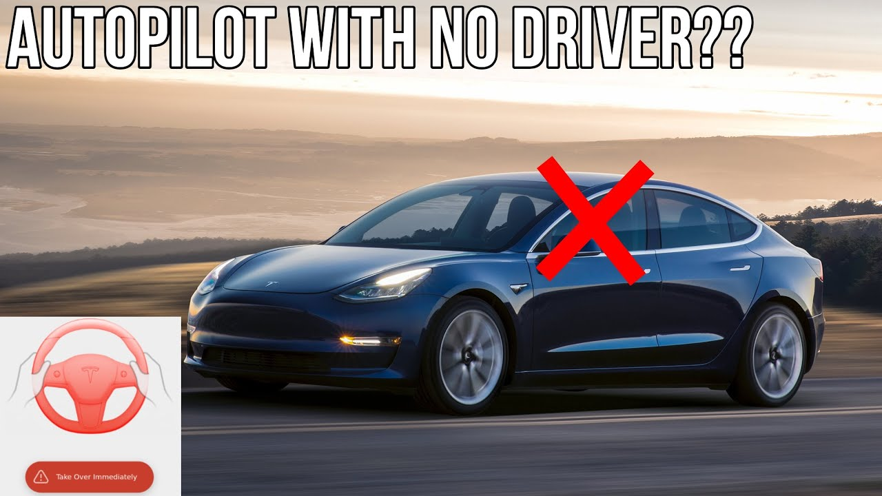 Can Autopilot Drive Without a Person in the Driver's Seat? | Dumb Tik Tok Response