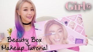 Who's That Girl | Glam Beauty Box Tutorials | featuring Wengie & Jake Warden