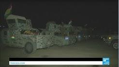 Iraq: Kurdish peshmerga forces prepare Mosul offensive under the cover of night