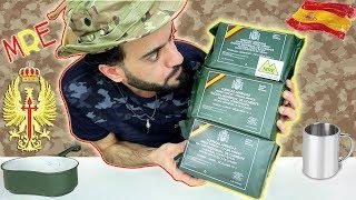 تحدي وتجربة أكل طعام الجيش الإسباني 🇪🇸 وجبات جاهزة للأكل - Spanish Military MRE Review & Challenge