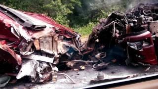 Авария 04-07-2017 Калужская область Боровск