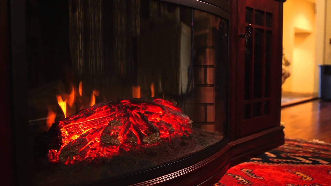 the dwyer electric fireplace entertainment center youtube