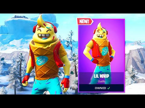 the new ice cream skin is amazing - ice cream cone skin fortnite