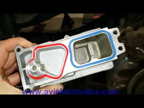 How to calibrate VGT Turbo Actuator  DODGE RAM 2500 3500 6.7l  HE300VG by AVI Electronics.