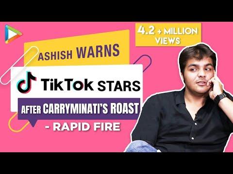 ashish-chanchlani's-rapid-fire---youtube-v/s-tik-tok-|-carryminati-|-bb-ki-vines-|-srk-|akshay-kumar