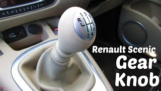 HTL: How To Remove and Replace a Renault 6 Speed Gear Knob