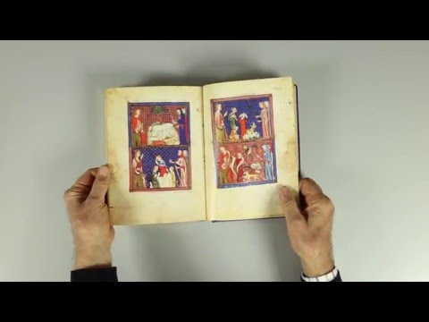 """The Sarajevo Haggadah"" - A facsimile done by Art Zamur Dragoljub Zamurovic"