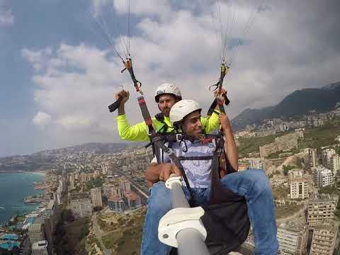 Beirut paragliding 00961 70660250 paragliding lebanon sport fly parapente