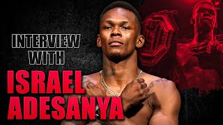 Israel Adesanya's Advice On Controlling Your Destiny Will Change You