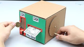 4 Amazing Ideas DIY Personal Bank Saving Coin and Money