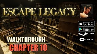 Escape Legacy Chapter 10 Walkthrough Ancient Scrolls Level 10 iOS/Android/PC/Oculus/Cardboard 3D VR