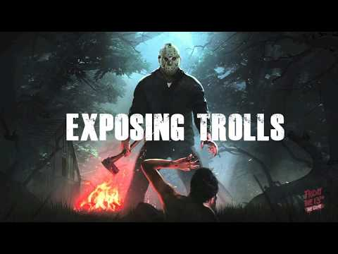 Warning Exposing trolls!!! & hackers on Friday the 13th online gameplay