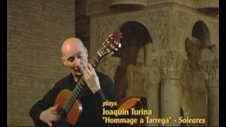 Sandro Torlontano (classical guitar) plays Turina Hommage a Tarrega - Soleares