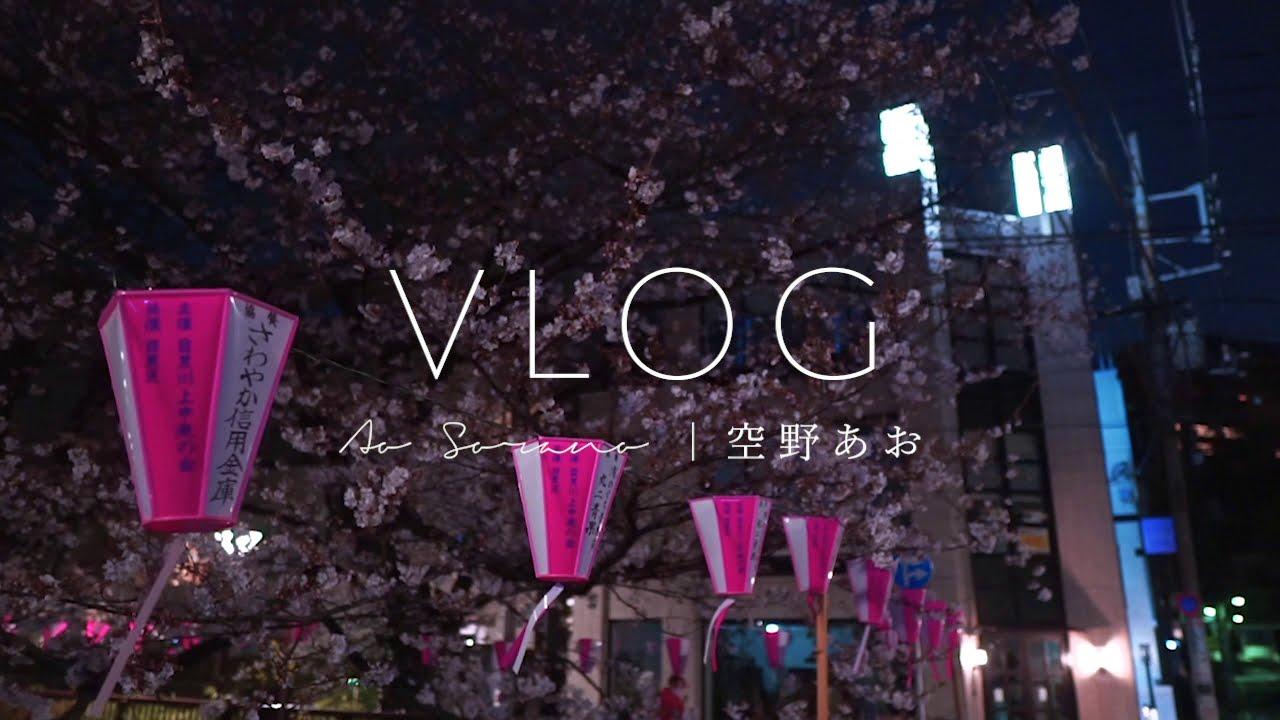 動画制作 - 日常VLOG「中目黒の夜桜」