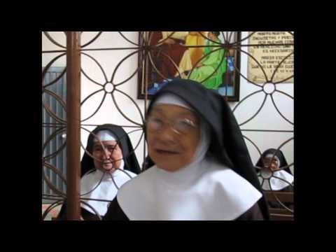 70 años vida Consagrada, Hermana Ester Sofia Parada  Convento Clarisas