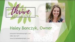 What is Thrive Bookkeeping - Complete Bookkeeping Services