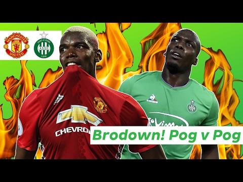 Brodown! Paul Pogba v Florentin Pogba