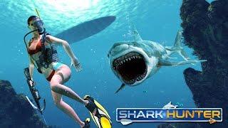 Shark Hunter & Shark Hunting (By Puffy Thumb) Android Gameplay HD