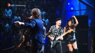GimmeShelter - MickJagger, U2, Fergie (Rock'n'Roll Hall of Fame 3SAT)