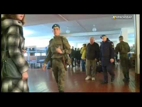 В авиаучилище Краснодара прошел день открытых дверей