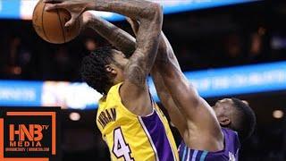 Los Angeles Lakers vs Charlotte Hornets 1st Qtr Highlights / Week 8 / Dec 9
