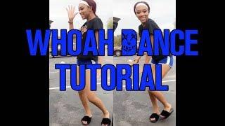 How To Do Tнe Woah Dance / Como dançar o WOAH |#TheWoah Tutorial | Dance Tutorial