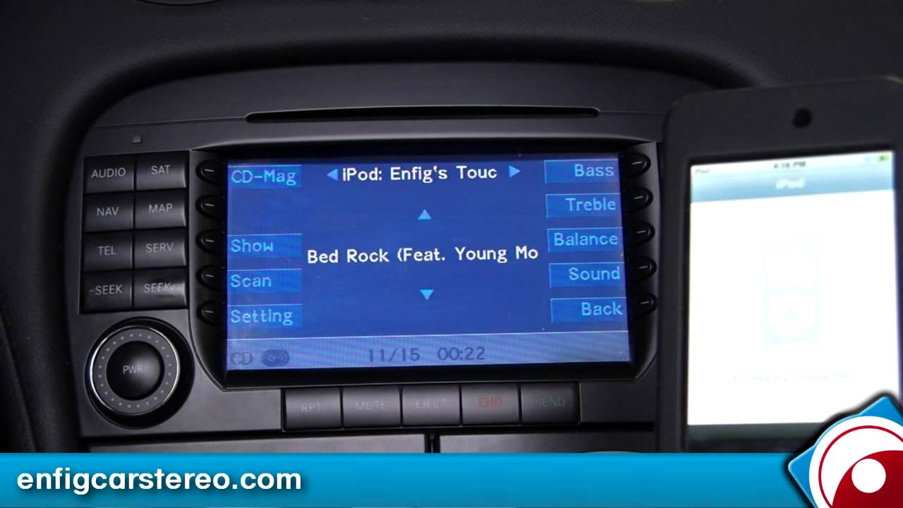 Mercedes Sl 550 Ipod Iphone Aux Usb Adapter Dension
