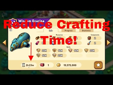 Shop Heroes (Let's Play) Ep. #35 - Lowering Craft Times!