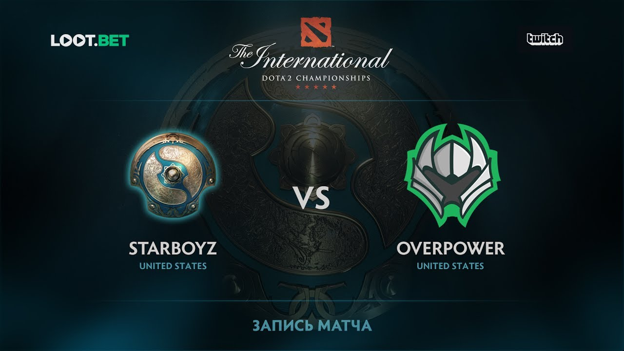 Starboyz vs Overpower, The International 2017 NA Qualifier