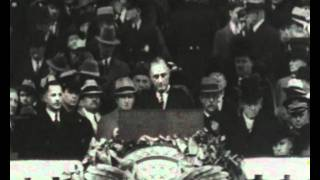 Franklin D. Roosevelt inauguration address