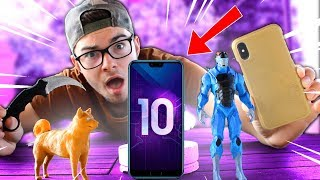 I IMPRIME A 3D SMARTPHONE! YOUR IDEAS #8 (Skin Fortnite, IPhone Shell, Dog, Knife)