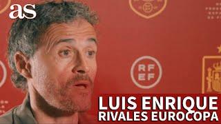 SELECCIÓN | LUIS ENRIQUE y los rivales de ESPAÑA en la EUROCOPA: SUECIA, POLONIA y ESLOVAQUIA | AS