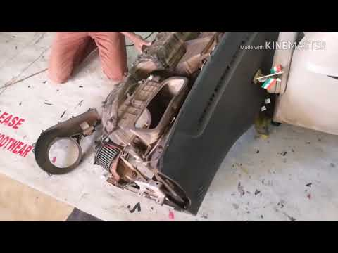 HOW TO CLEAN AC COIL AND DASHBOARD REMOVING WORK
