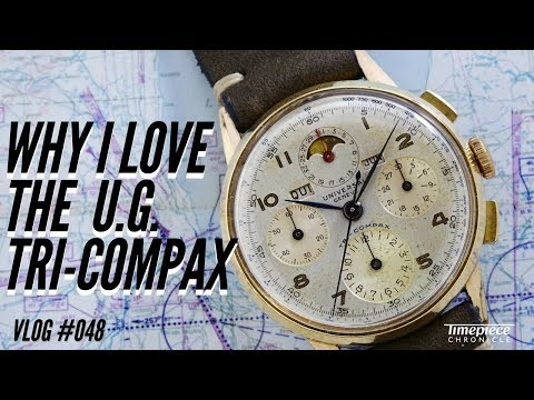 Why I Love the Universal Geneve Tri-Compax | Vlog #048