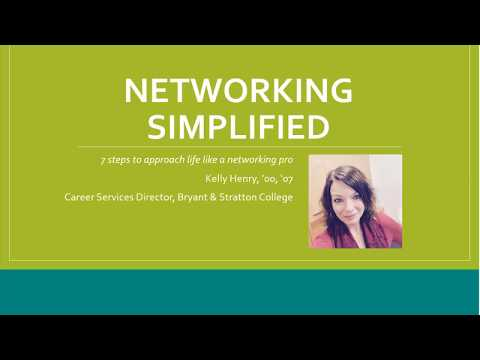 Networking Simplified 7 steps to expanding your career opportunities