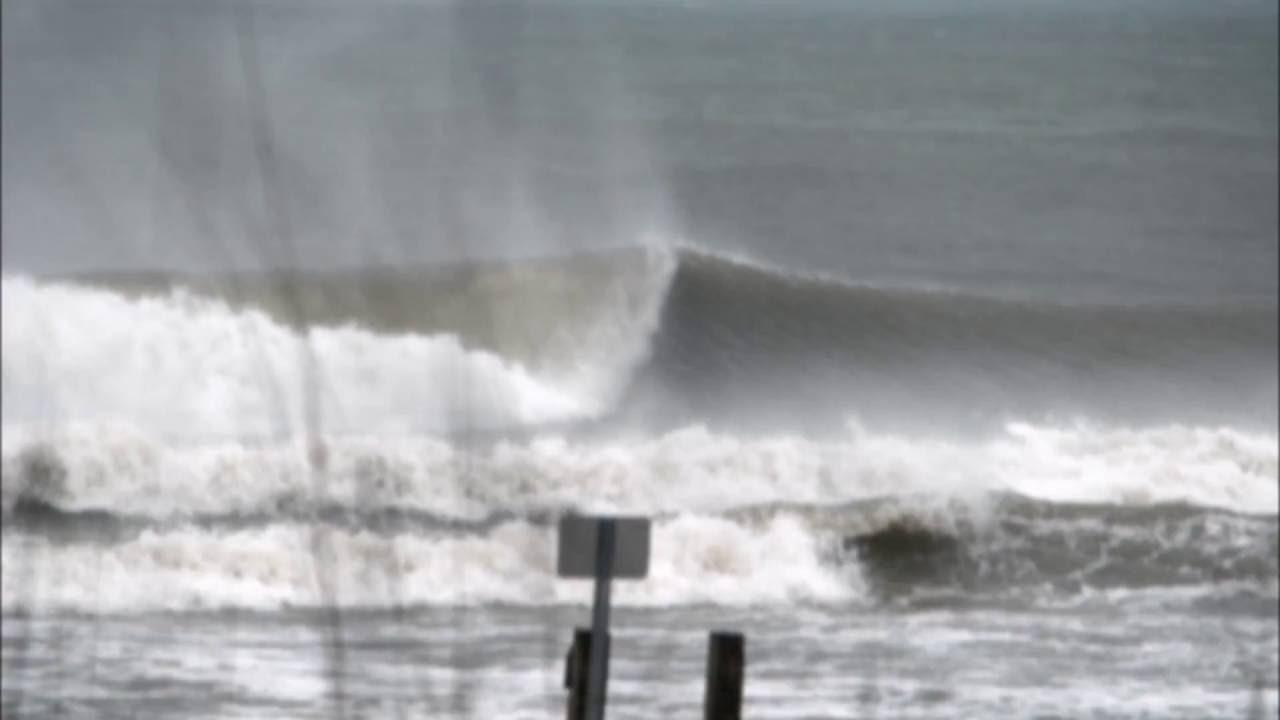 7deb769552 Hurricane surfing North Myrtle Beach - YouTube