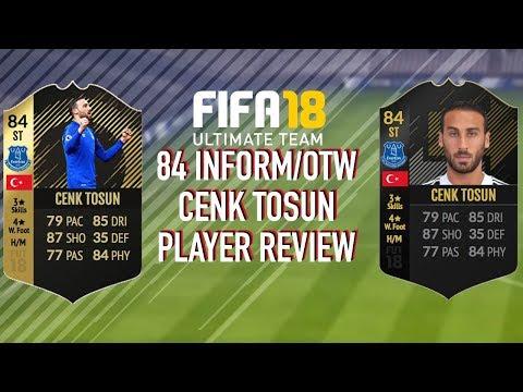 FIFA 18! 84 INFORM:OTW TOSUN PLAYER REVIEW!