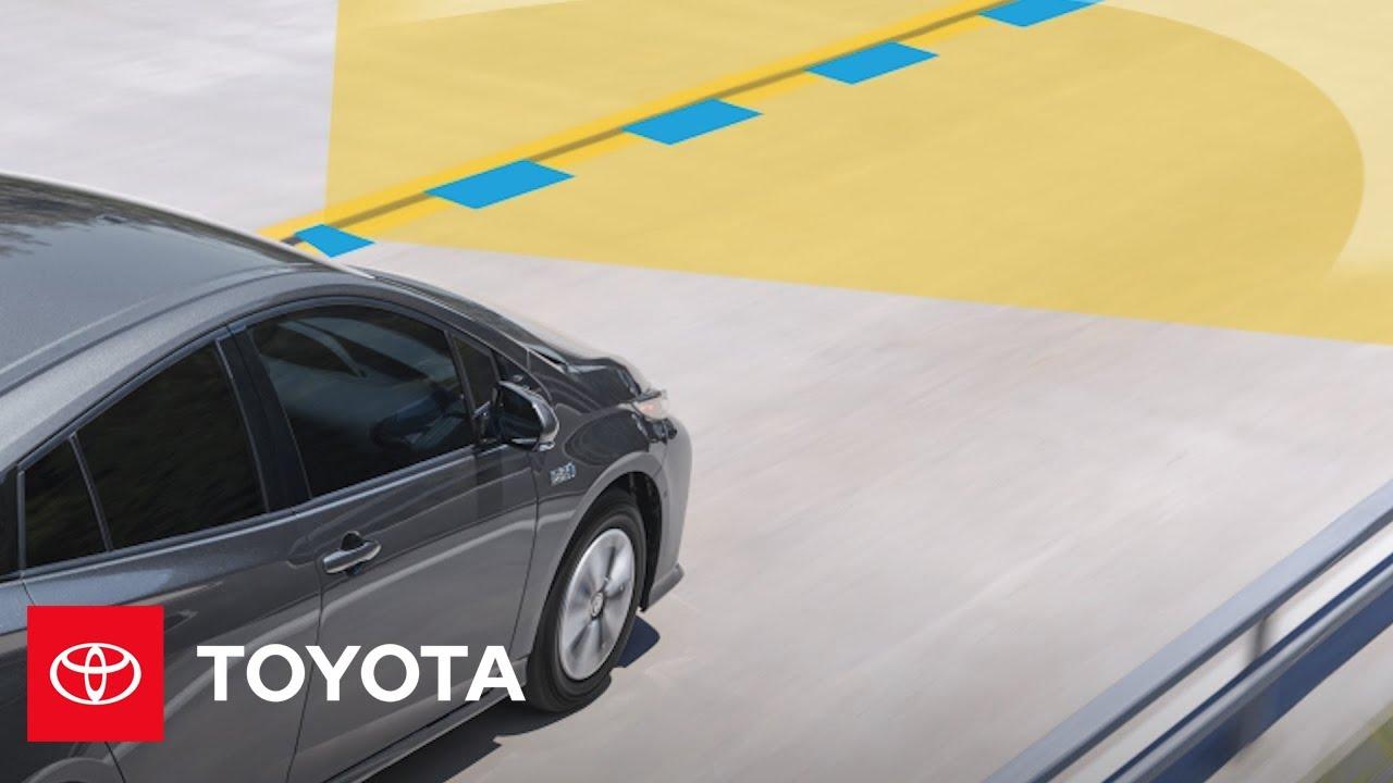 2017 Toyota Prius Prime: Standard Toyota Safety Sense™ P (TSS-P)  | Toyota
