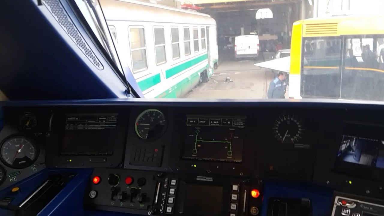 cabina di guida del nuovo treno alfa2 youtube